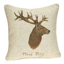 Head Boy Linen Mix Cushion