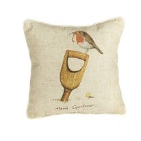 """Head Gardener"" Linen Mix Cushion"