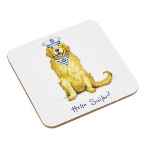 At Home in the Country - Hello Sailor! Coaster
