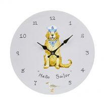 Hello Sailor! Wall Clock