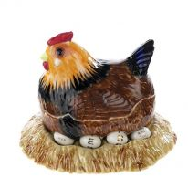 Hen on Nest Perpetual Calendar
