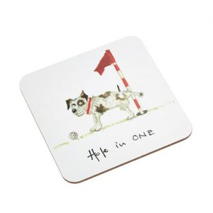 At Home in the Country - Hole in One Coaster