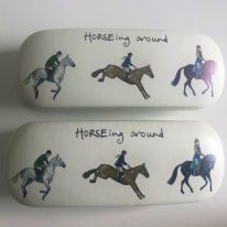 Horses Glasses Case