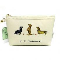 I (Heart) Dachshunds Make Up Bag
