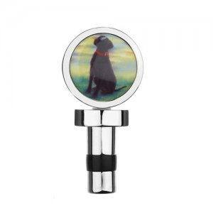 At Home in the Country - Labrador Bottle Stopper