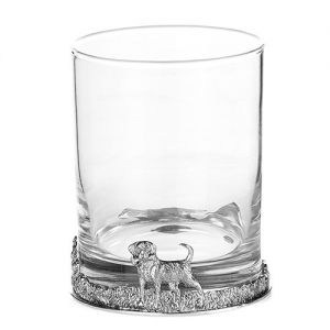 At Home in the Country - Labrador Gin/Whisky Glass