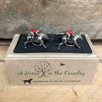 At Home in the Country - Labrador Head Cufflinks