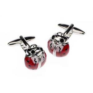 At Home in the Country - Ladybird Cufflinks
