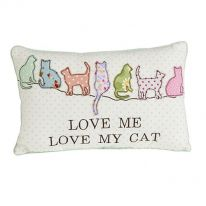 Love me Love my Cat Cushion