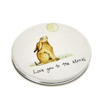 Love you to the Moon Compact Mirror