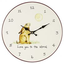 """Love You to the Moon"" Wall Clock"