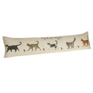 At Home in the Country - Magnificent Moggies Draught Excluder