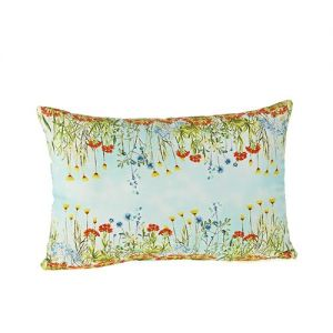 At Home in the Country - Meadow Flowers 100% Cotton Cushion