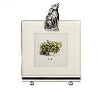 Moongazing Hare Photo Frame