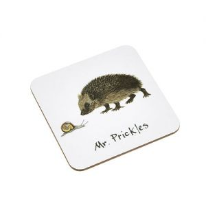 At Home in the Country - Mr Prickles Coaster