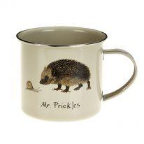 Mr Prickles Tinware Mug