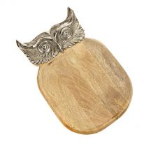 Owl Cheese/Bread Board