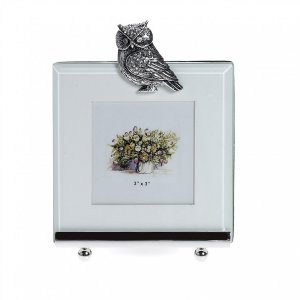 At Home in the Country - Owl Photo Frame