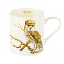 """Owl - Top Gun"" Fine Bone China Mug"