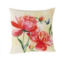 Peony 100% Cotton Cushion