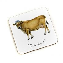 """Posh Cow!"" Coaster"