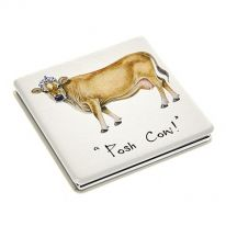 Posh Cow Compact Mirror