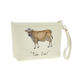 At Home in the Country - Posh Cow! Make Up Bag
