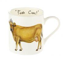 """""""Posh Cow!"""" Mug"""
