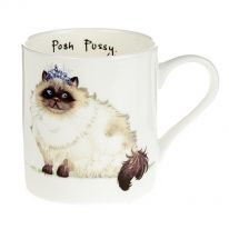 """""""Posh Pussy"""" Mug"""