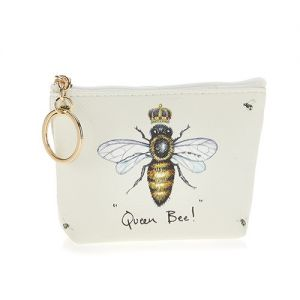 At Home in the Country - Queen Bee! Coin Purse