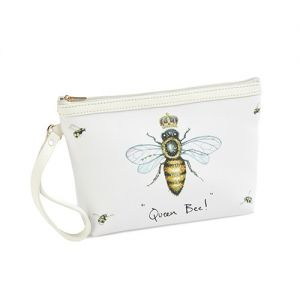 At Home in the Country - Queen Bee! with Crown Make Up Bag
