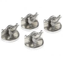 Set of 4 Pheasant Place card Holders