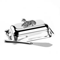 Sheep Butter Dish with Spreader