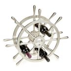 At Home in the Country - Ships Wheel Bottle Holder