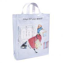 Shop Till You Quack! Large Tote Bag