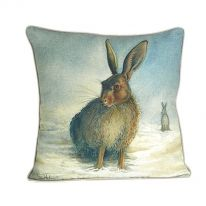 Snow Hares Cushion