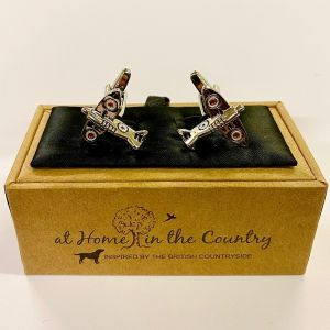 At Home in the Country - Spitfire Cufflinks