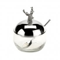 Stag Jam Dish and Spoon