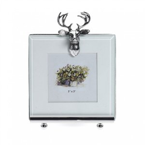 At Home in the Country - Stag photo frame