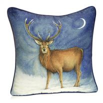 Standing Stag Cushion