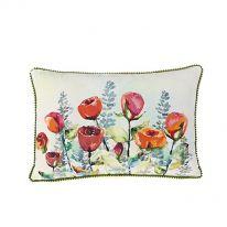 Summer Flowers 100% Cotton Cushion
