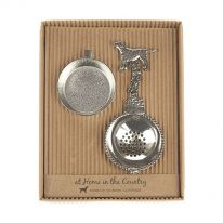 Tea Strainer with Dog Handle