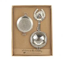 Tea Strainer with Horse Handle