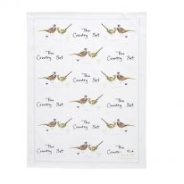 The Country Set Teatowel