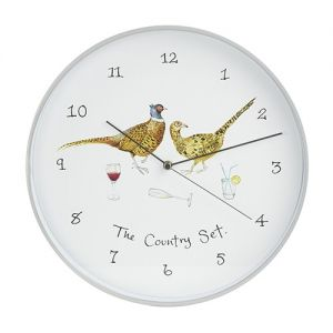 At Home in the Country - The Country Set Wall Clock