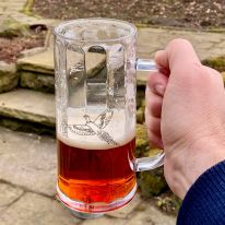 The Pheasant Polycarbonate Pint Tankard