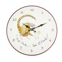 """""""Tick Tock.... Gin O'Clock!"""" Wall Clock"""
