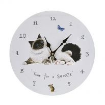 Time for a Snooze Wall Clock