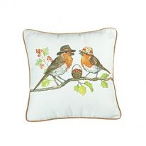 Two Robins Cushion