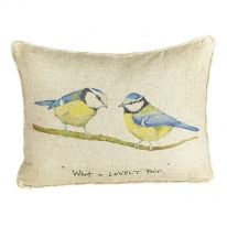 """""""What a Lovely Pair"""" Linen Mix Cushion"""